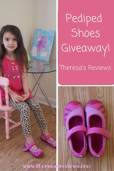 Pediped shoe #giveaway! Check it out today and enter at www.theresasreviews.com. Featuring @pediped, written by @TheresaPickett1