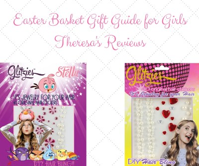 Easter gift guide - gifts for the Easter basket - Featuring Glitzies jewelry for your hair - on Theresa's Reviews