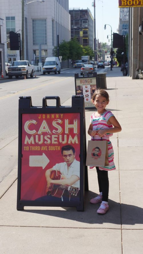 4 Kid-Friendly Places in Downtown Nashville - The Johnny Cash Museum / Bongo Java Cafe - Theresa's Reviews