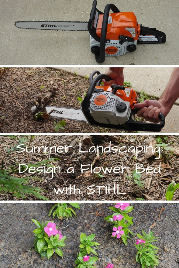 Summer Landscaping: Designing a Flower Garden with the STIHL MS 170 Chainsaw - Found on Theresa's Reviews - www.theresasreviews.com