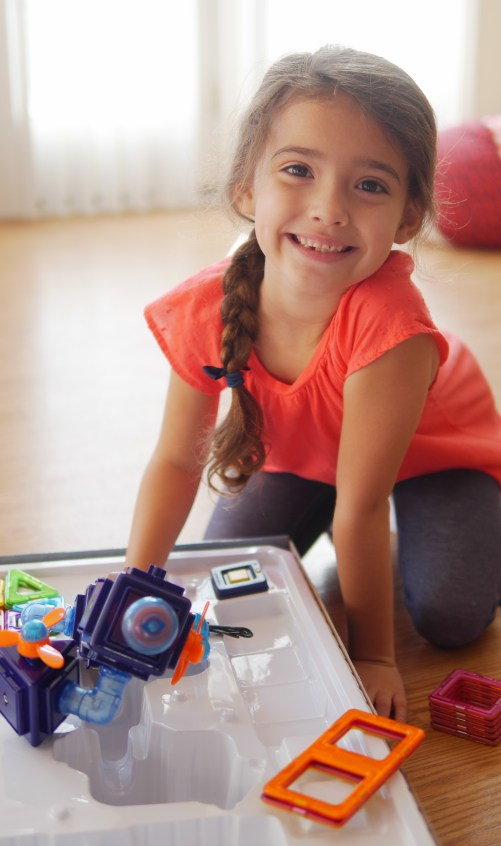 Theresa's Reviews shares STEM Learning Tips With Magformers Magnet Toys