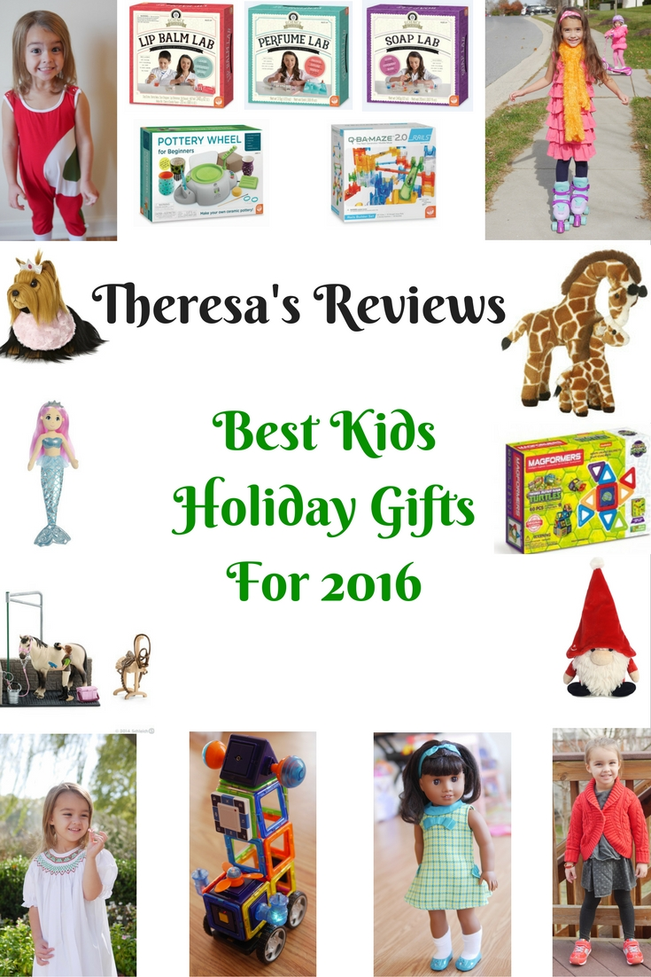 Theresa's Reviews - Best Kids Holiday Gifts For 2016 - Shop holiday gifts that your children will truly love. From toys to crafts, you will find the best gifts of the season.