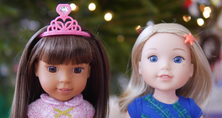 Unboxing of Two Wellie Wisher American Girl Dolls