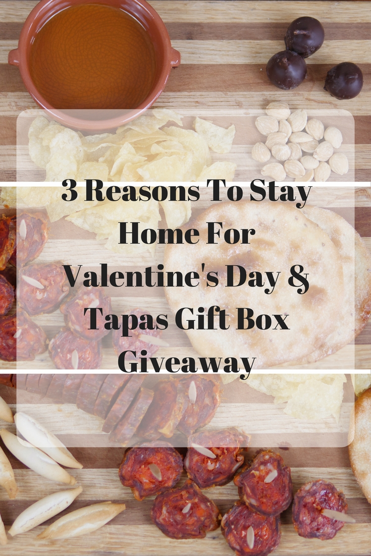 Theresa's Reviews - 3 Reasons To Stay Home For Valentine's Day & La Tienda Tapas Valentine's Day Giveaway