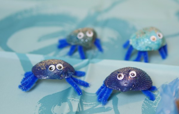 Tamatoa the shiny crab character from Moana is simple to make! Check out my Youtube video above for simple step by step directions.