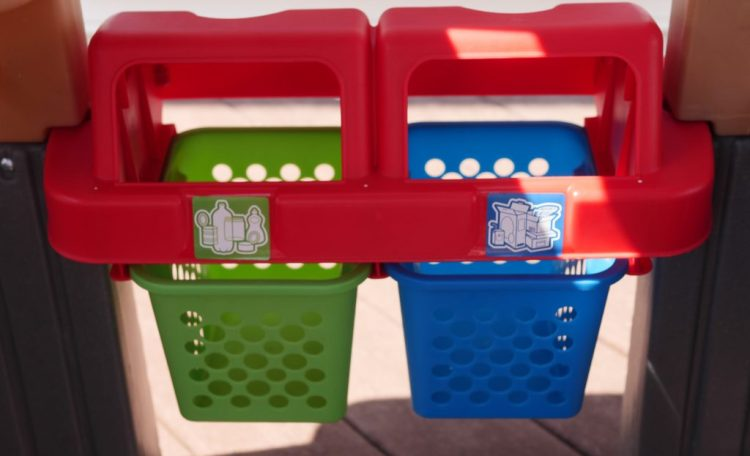 Sort recyclable materials, and discuss how recycling works in your home too! (c) Theresa's Reviews