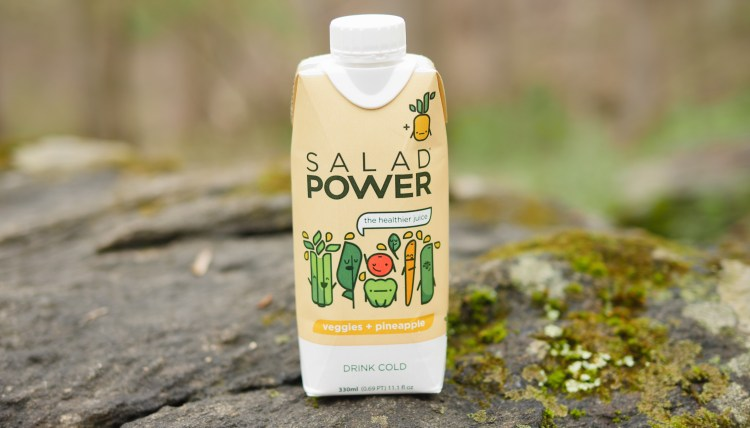 Salad Power drinks are the perfect beverage to take on a casual family hike. You can rehydrate and get the nutrition you need at the same time.