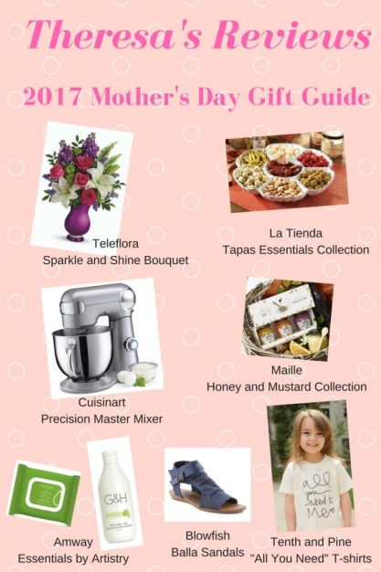 Theresa's Reviews 2017 Mother's Day Gift Guide