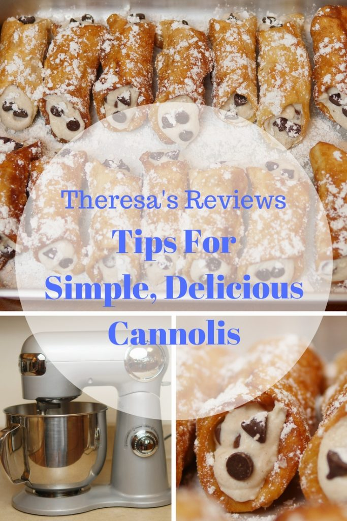 3 Tips For Making Simple, Delicious Cannolis - Cuisinart Precision Master Mixer - Theresa's Reviews