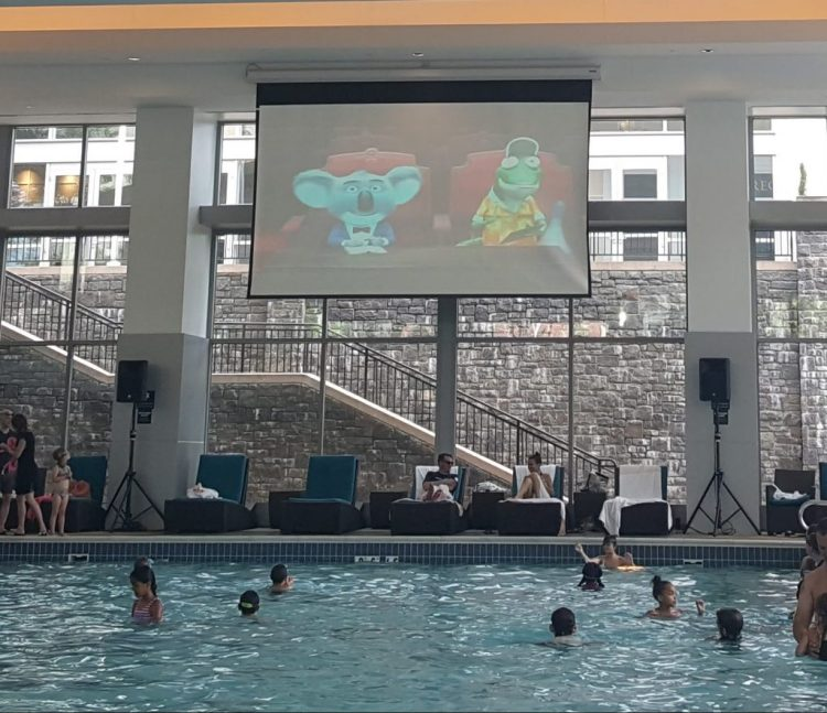Aquafina®  Summer Movie Matinee at the Gaylord National Harbor