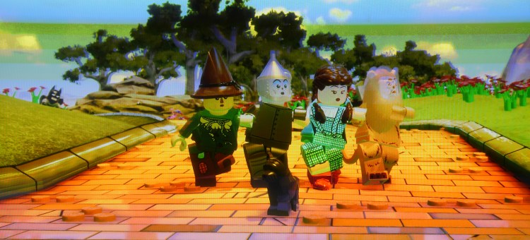 After building the Starter Pack in Lego Dimensions, we enjoyed watching the characters visit the Land of Oz.