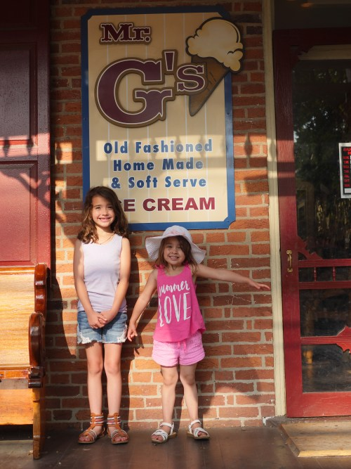 Stop by Mr. G's for homemade ice cream in downtown Gettysburg.