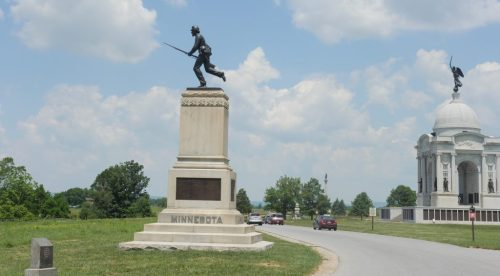 After catching a glimpse of the incredible monuments, I knew I would want to return there on foot before leaving Gettysburg.