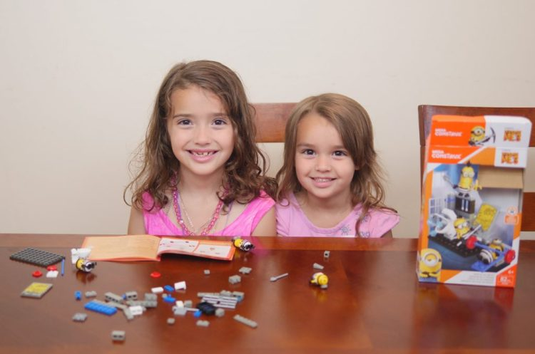 My children immediately wanted to begin building the Mega Construx sets!