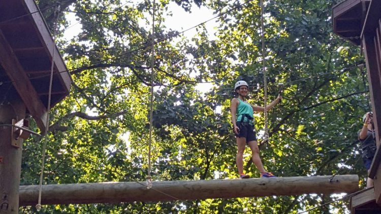 High Ropes Course at Terrapin Adventures