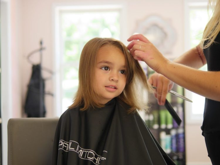 3 Tips For Getting Your Daughter's Hair Cut. Tip #1: Choose a salon you already like.