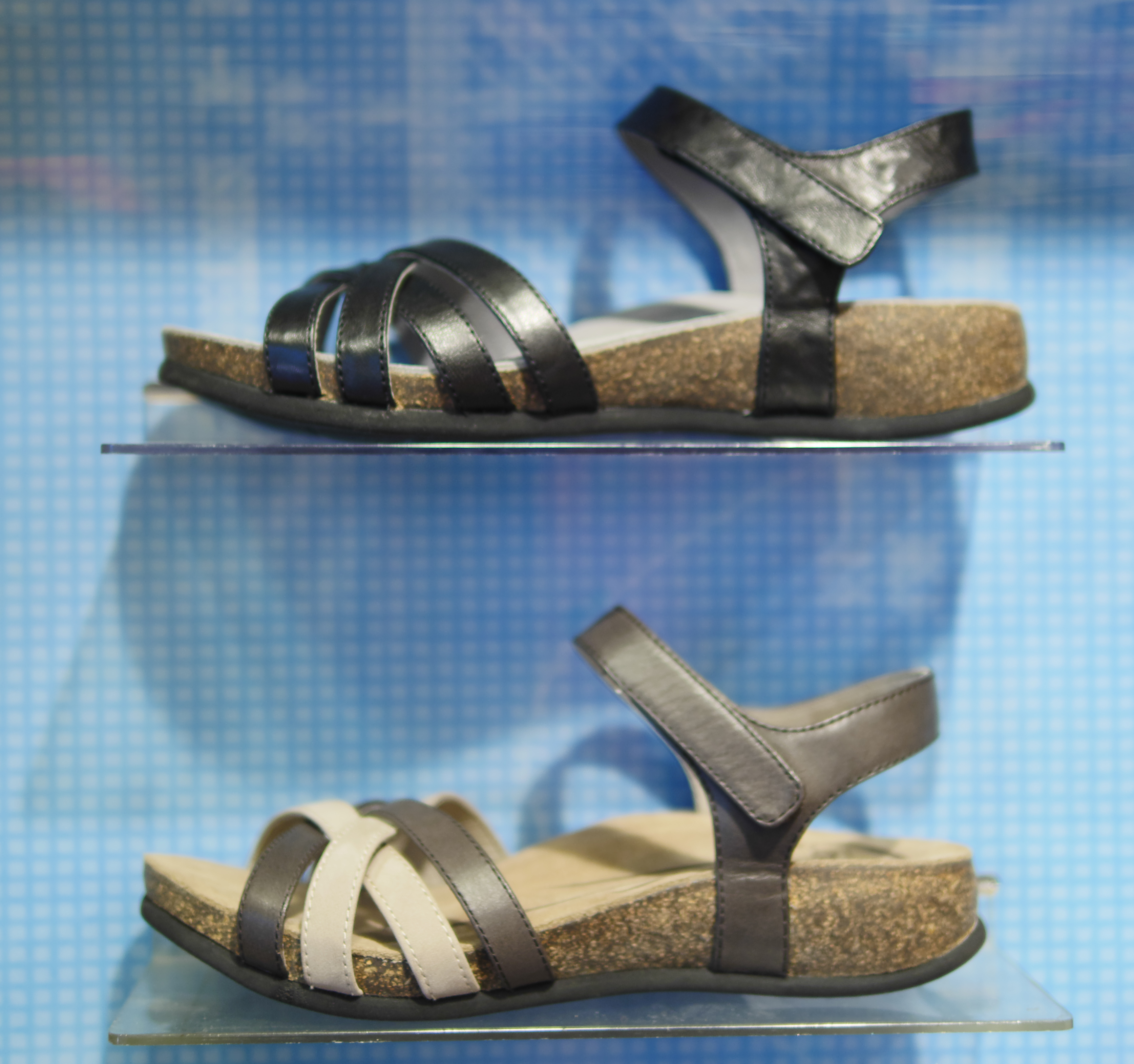 6b4f614ed5f The abeo bridgette sandals come in black and a neutral brown jpg 3456x3243 Abeo  shoes