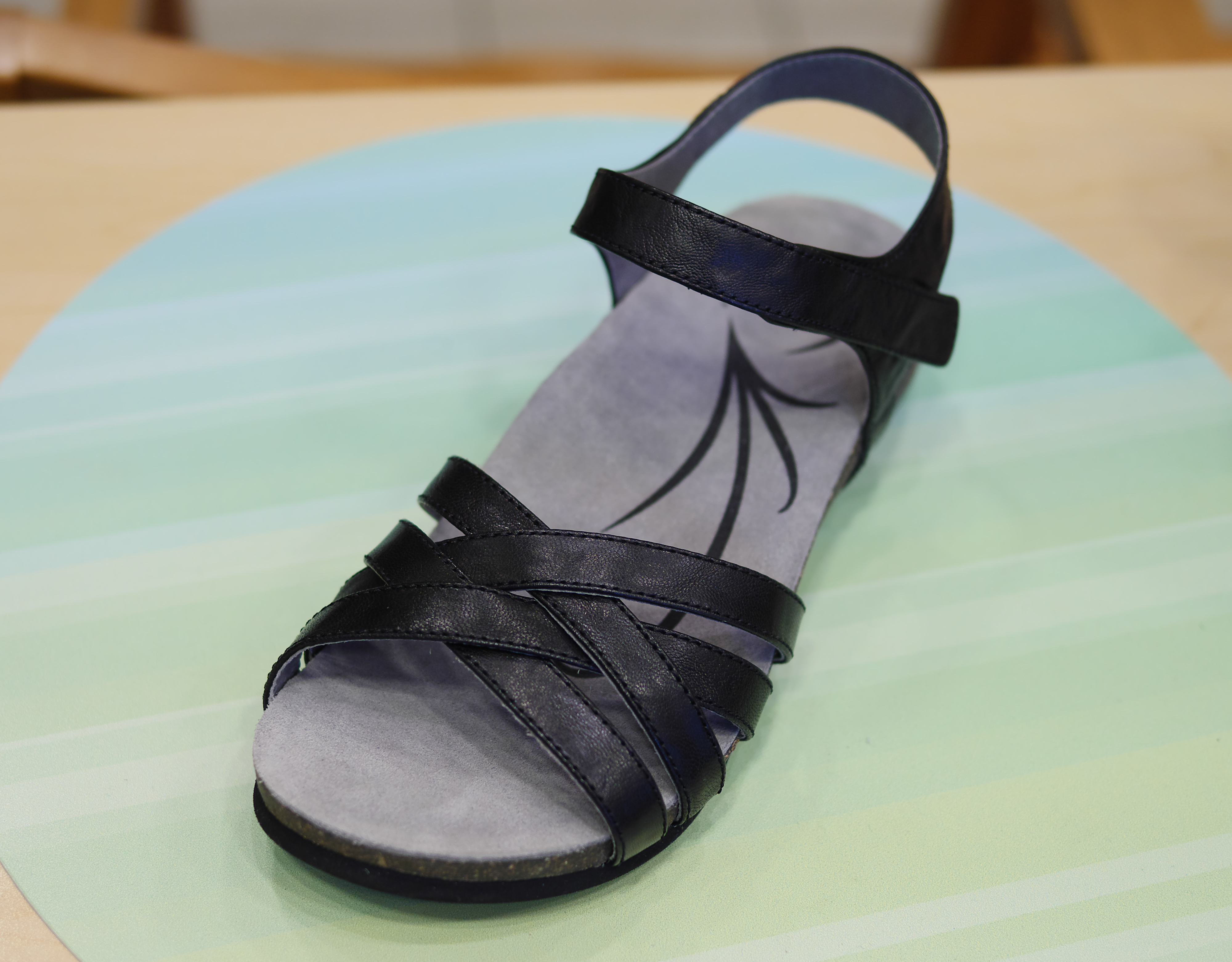 89a6ffa51f6 From abeo the bridgette sandals come in different arch supports as well as  in different jpg