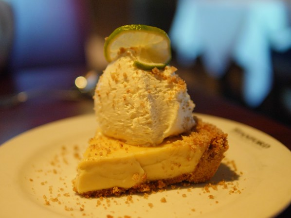 Key Lime Pie at Stanford Grill in Columbia, Maryland - Theresa's Reviews