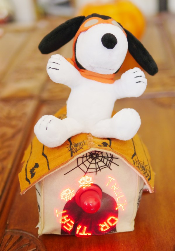 Animated Halloween Snoopy lights up, plays music, and spells out festive Halloween sayings. Theresa's Reviews 2017 Halloween Decor