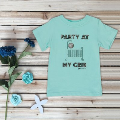 Theresa's Reviews 2017 Christmas Gift Guide For Babies - Fayfaire Clothing Party At My Crib Tee