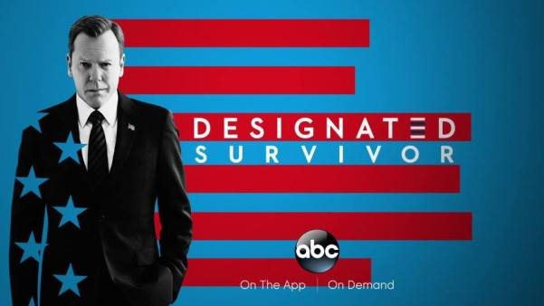 """""""Designated Survivor"""" airs Wednesdays at 10/9 on ABC and can also be watched on the ABC App and On Demand (and on Hulu!)."""