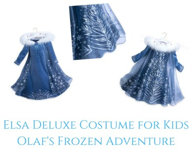 Theresa's Reviews - Elsa Deluxe Costume for Kids - Olaf's Frozen Adventure