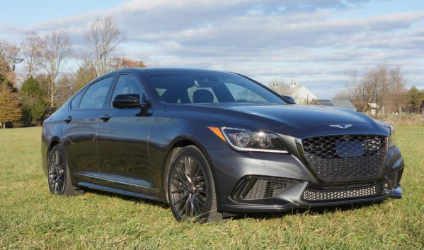 Theresa's Reviews 2017 Christmas Gift Guide For Men - #DriveGenesis The 2018 Genesis G80 Sport is an attractive vehicle that offers comfort and convenience.