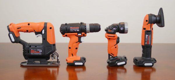 Theresa's Reviews 2017 Christmas Gift Guide For Men - With the The Black and Decker GoPak 4-Tool Combo Kit, you get everything you need for basic woodworking.