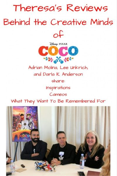 Theresa's Reviews Behind The Creative Minds Of Disney Pixar Coco