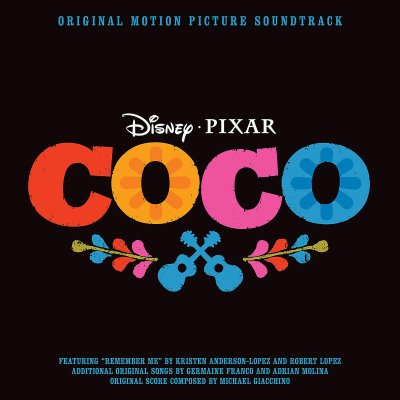 Theresa's Reviews Disney Pixar Coco Soundtrack - Photo credit: Disney