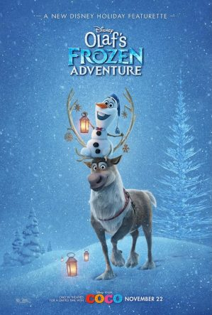 Theresa's Reviews - Olaf's Frozen Adventure makes its broadcast television debut on Thursday, December 14, 2017 from 8:00 - 8:30 p.m. EST on The ABC Television Network. #OlafsFrozenAdventure #PixarCocoEvent width=