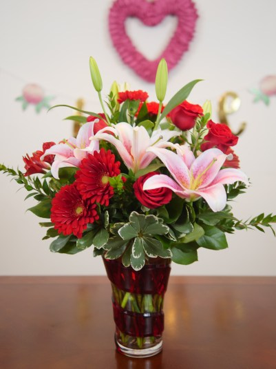 Theresa's Reviews - Teleflora Swirling Desire Bouquet