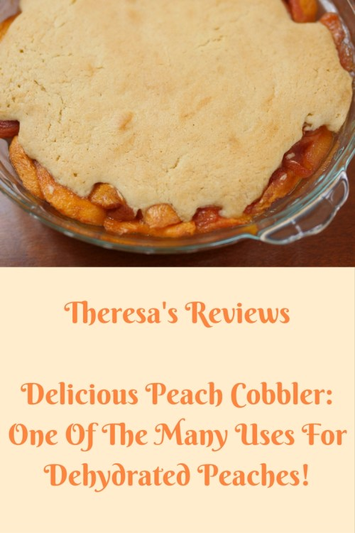 Theresa's Reviews - Delicious Peach Cobbler: One of the Many Uses for Dehydrated Peaches!