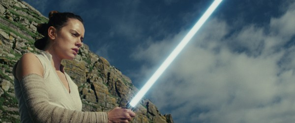 Star Wars: The Last Jedi was nominated for Oscar awards in Visual Effects, Score, Sound and Sound Editing