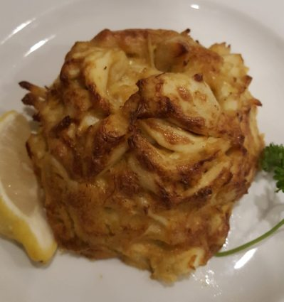 Crab Cakes at G & M Restaurant & Lounge