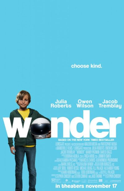 'Wonder' Movie Theatrical Release Poster
