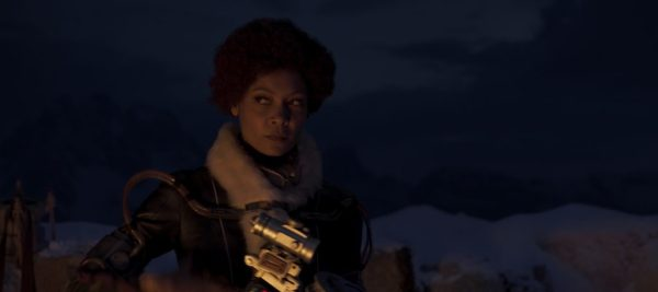 Thandie Newton is Val in SOLO: A STAR WARS STORY. 'Solo: A Star Wars Story' still photo #SoloAStarWarsStory