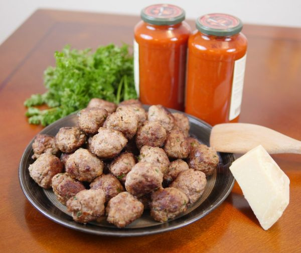 Theresa's Reviews - Our Family's Traditional Sunday Meatball Recipe! Delicious meatballs start with the best ingredients.