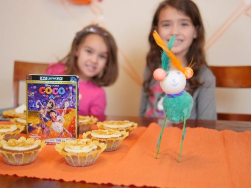 Children can create their own alibrijes, or spirit animals, for the Coco movie party. Theresa's Reviews #CocoBluRay