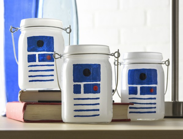 R2D2 Luminaries Theresa's Reviews - 2018 Oscar Party Kids Craft And Recipe Ideas