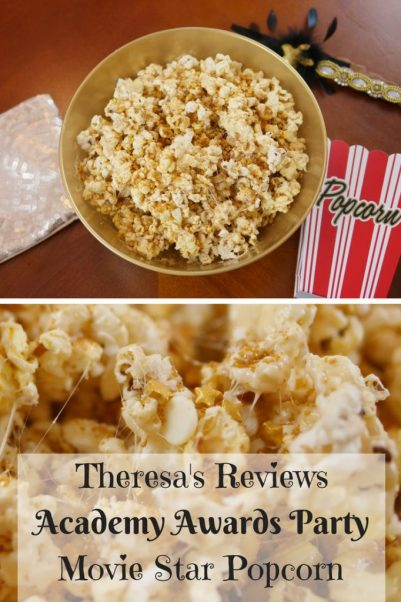 Academy Awards Party Movie Star Popcorn - Theresa's Reviews