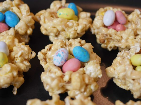 Theresa's Reviews - Popcorn Bird Nest Easter Treats