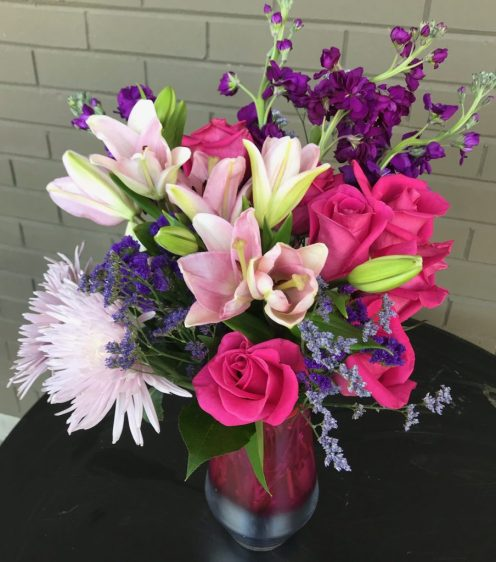3 Things To Do On Mother's Day - All Eyes On You Teleflora bouquet - Theresa's Reviews