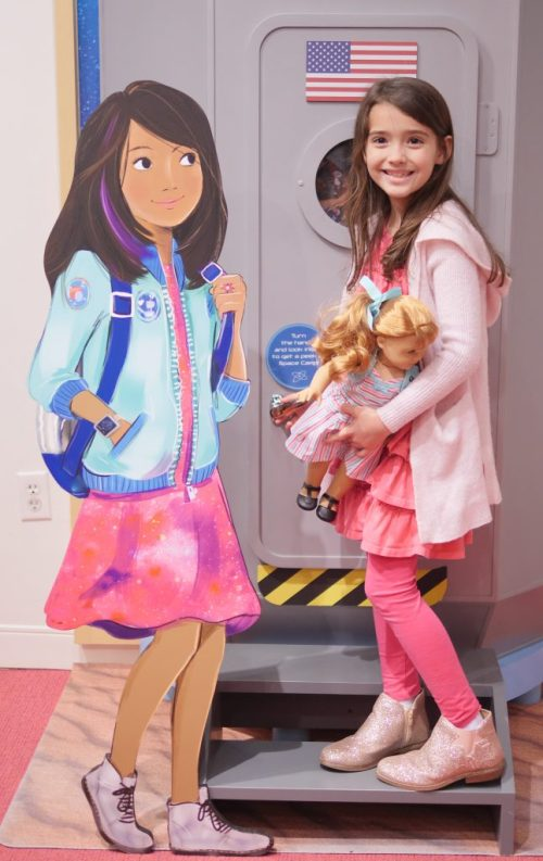 American Girl Cafe & Hair Salon Experience - Luciana Vega Display - Theresa's Reviews