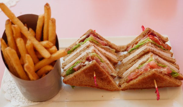 American Girl Cafe & Hair Salon Experience - Turkey Club Sandwich - Theresa's Reviews
