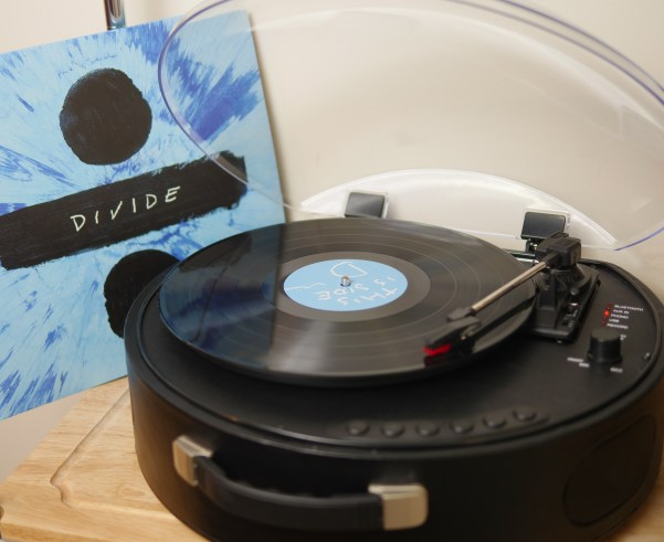 Musical Activities Families Will Enjoy - Rock N' Rolla UFO Turntable - Theresa's Reviews