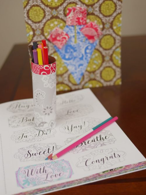 3 Paper Craft Gift Ideas (& Vera Bradley Giveaway!) - - DIY Mother's Day Gift Ideas - Theresa's Reviews
