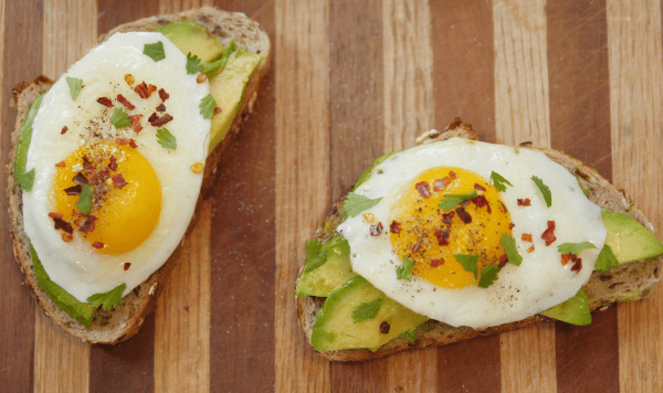 Sunny Side Up Egg Avocado Toast - Theresa's Reviews
