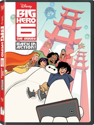 Big Hero 6 The Series: Back In Action! DVD Giveaway - Theresa's Reviews